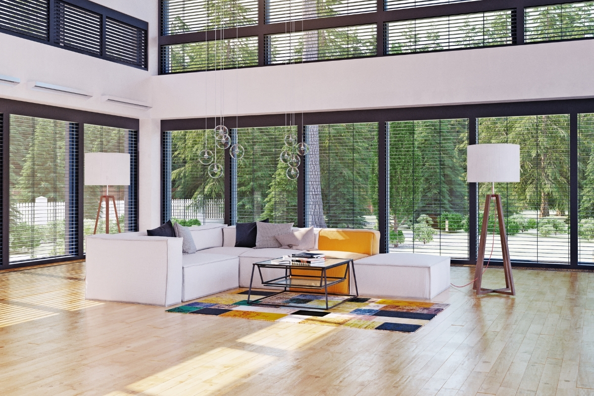 SPC flooring for living room