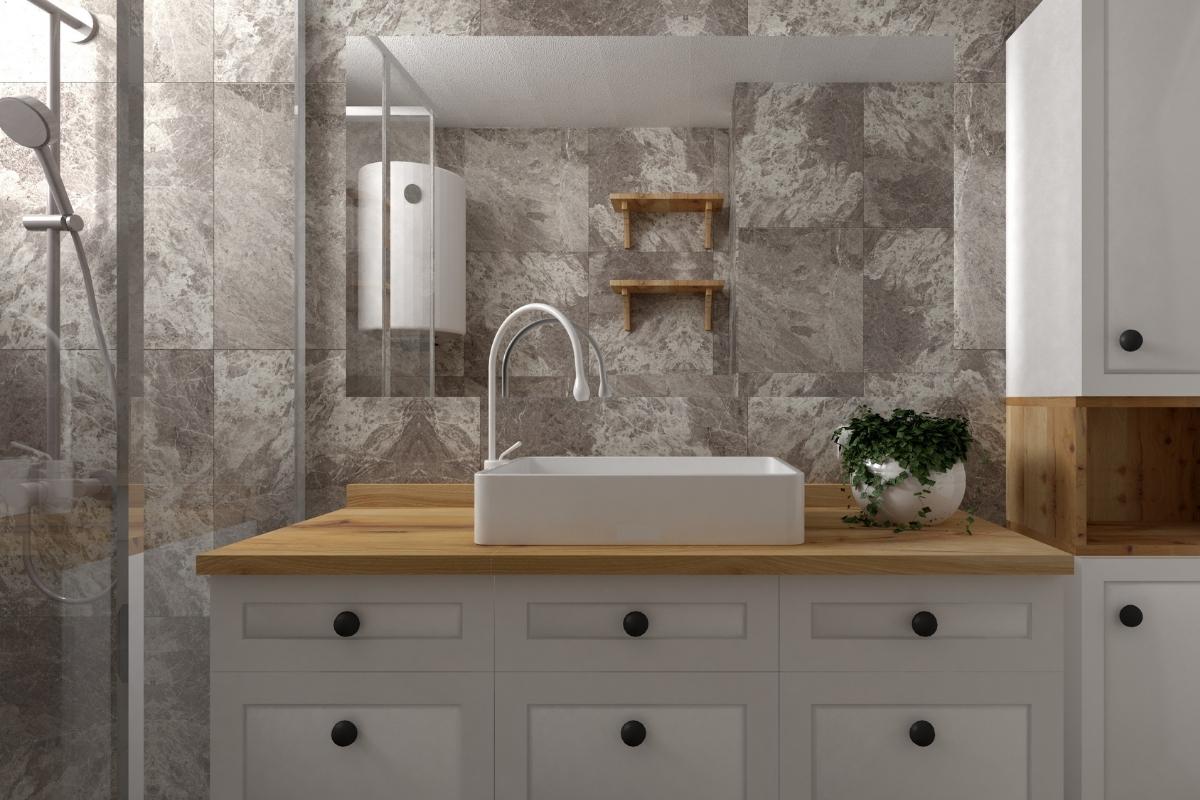 artistic tiles bathroom ideas