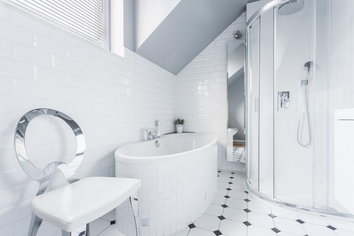 futuristic modern bathroom design
