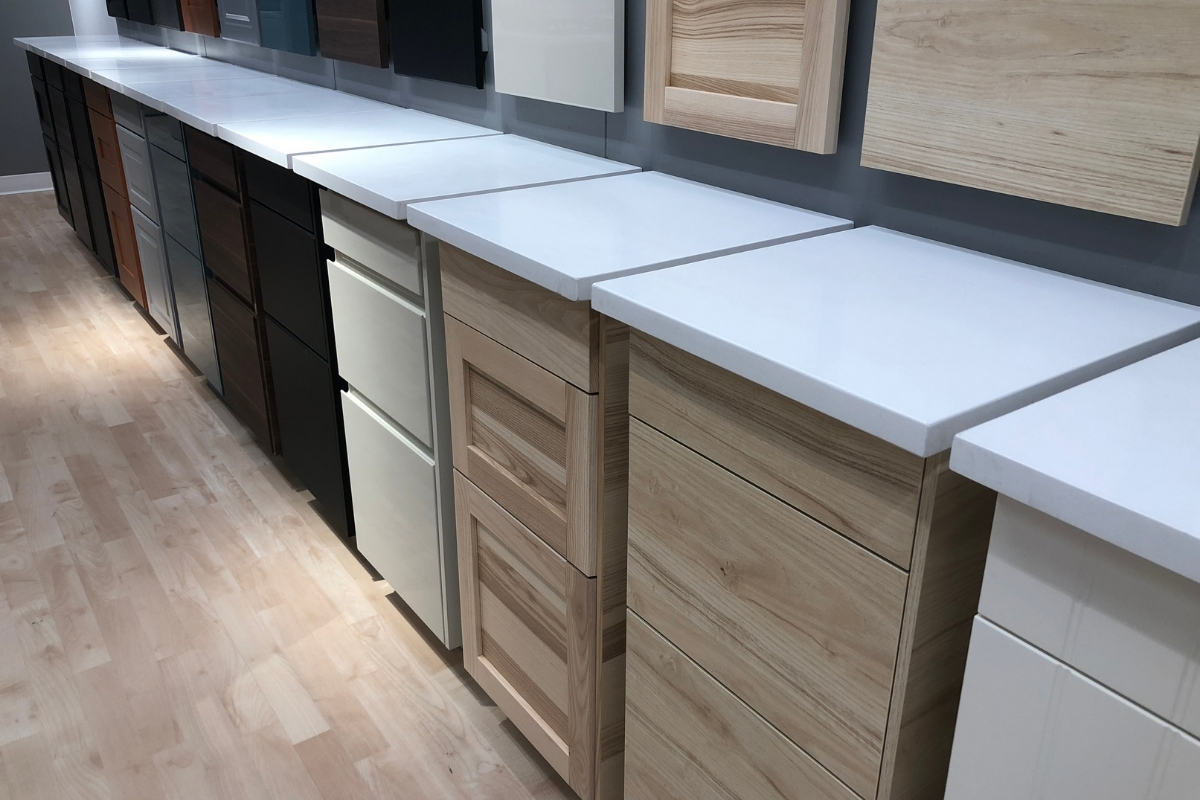 kitchen cabinet material and design Malaysia