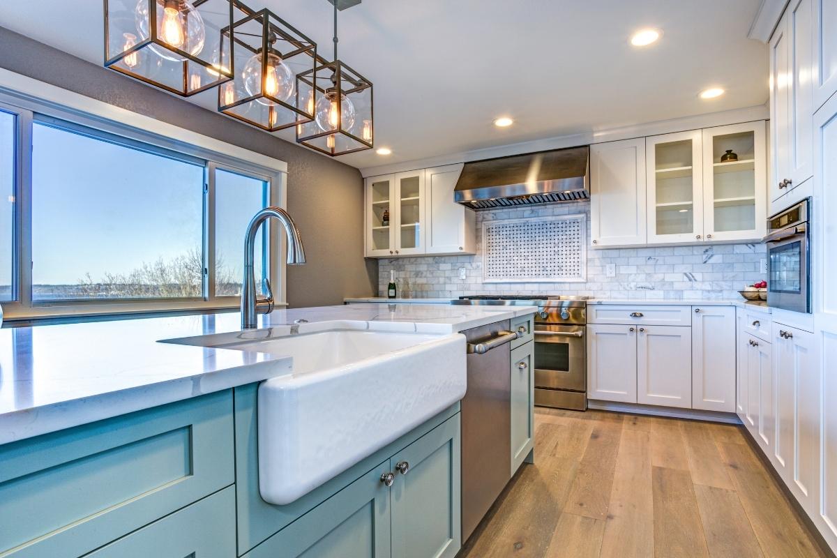 kitchen renovation idea unique design