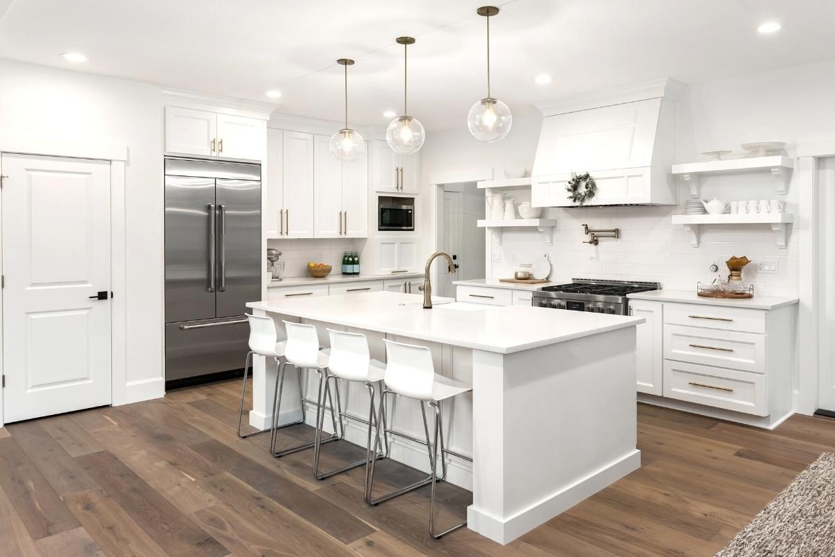 landed house kitchen design renovation in KL and Selangor