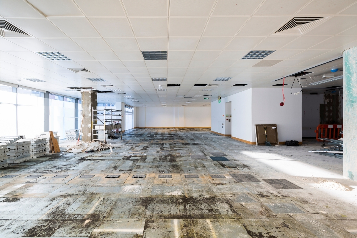 office site visit and quotation for renovation